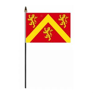 Anglesey Country Hand Flag - Small